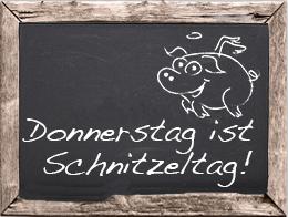 Schnitzel Donnerstag